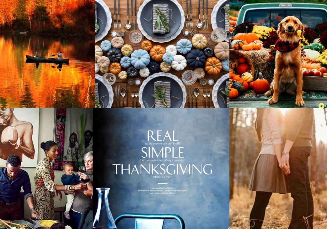 photo credit/source: 1. expressen.se - 2. elle.se - 3. dog time - 4. food & wine (marcus samuelsson turkey day in harlem) - 5. real simple (marcus nilsson) - 6. fresh farm house