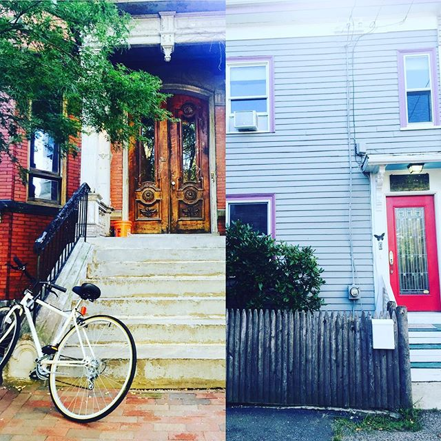 Cambridge, Massachusetts. This is the first house my magnificent parents brought me home to after I was done being born. Next to the last house we lived in before moving to California. #specialhouses