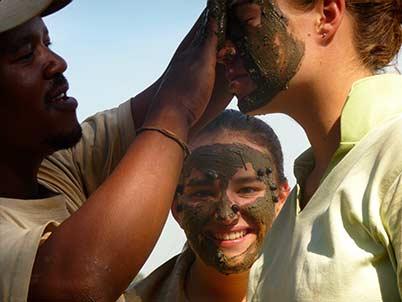 river mud mask .Imfolozi