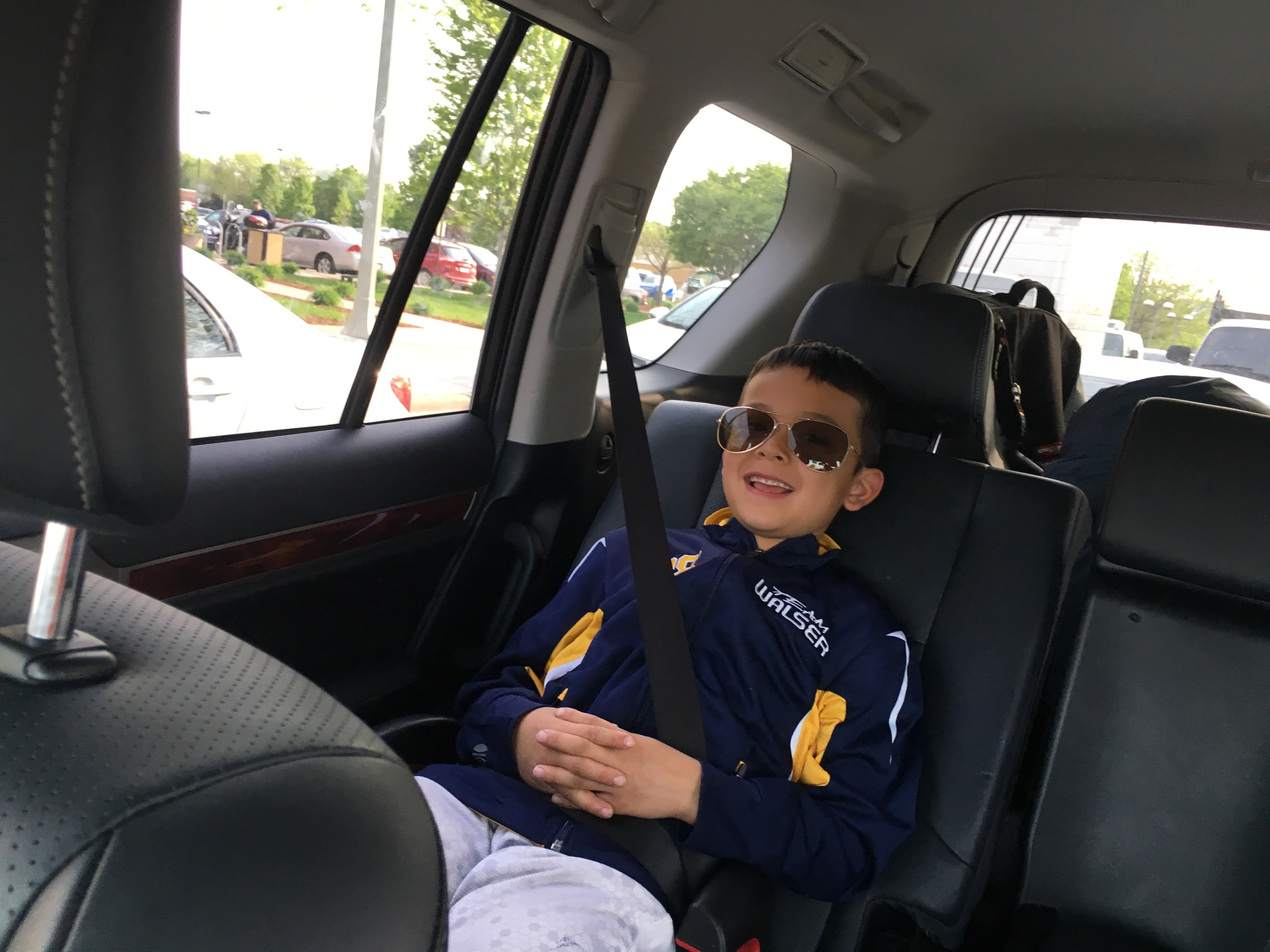 """Instagram Message: """"Mama, is Memorial Day a happy or sad holiday?"""" Good question little chillin' guy. I told him to go to my bio, click and read the blog."""