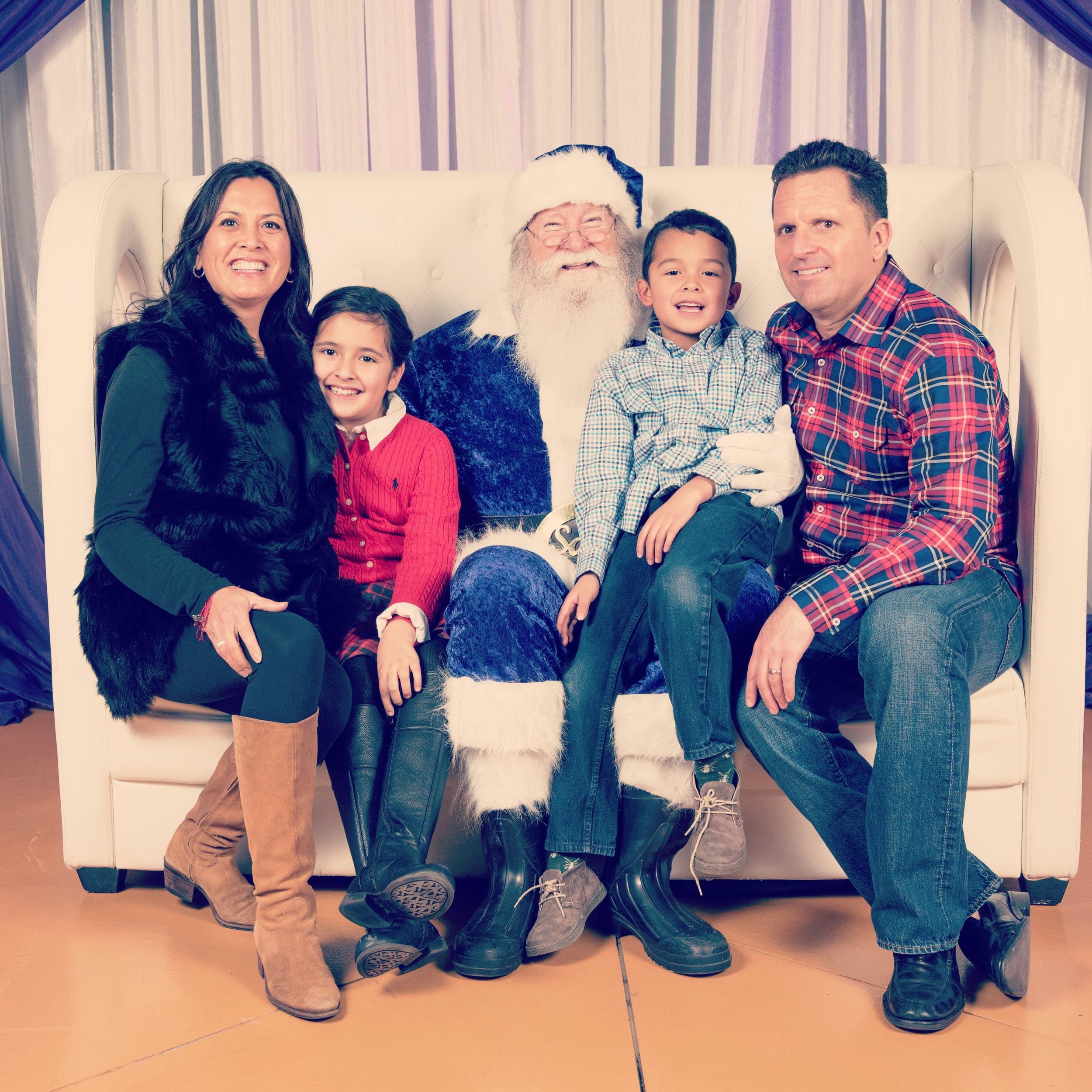 Instagram Message: Happy Holidays from The Patons and the Viking guy with a beard.