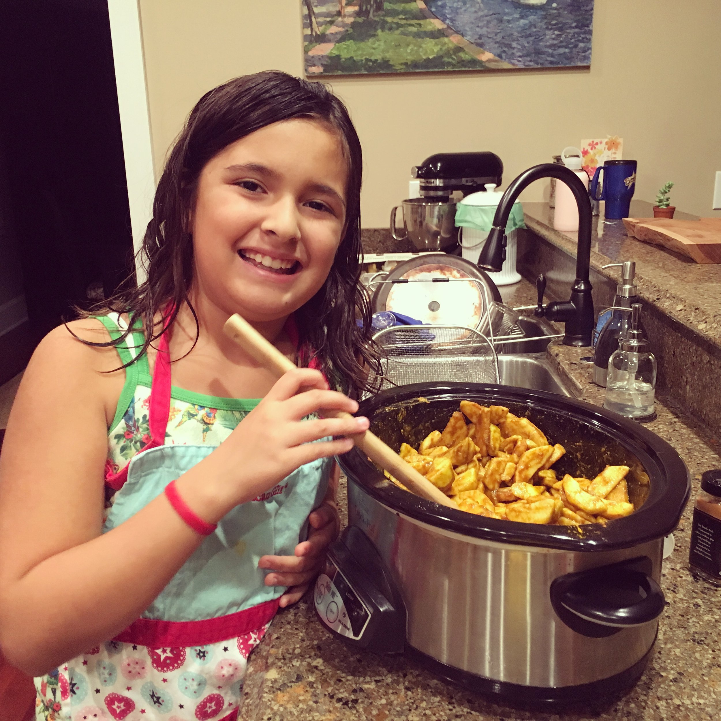 Instagram Message: She's making some  thoughtful pinches  for Child Health Day next Mon. Oct. 3rd. Find the recipe on thoughtfulpinch.com.