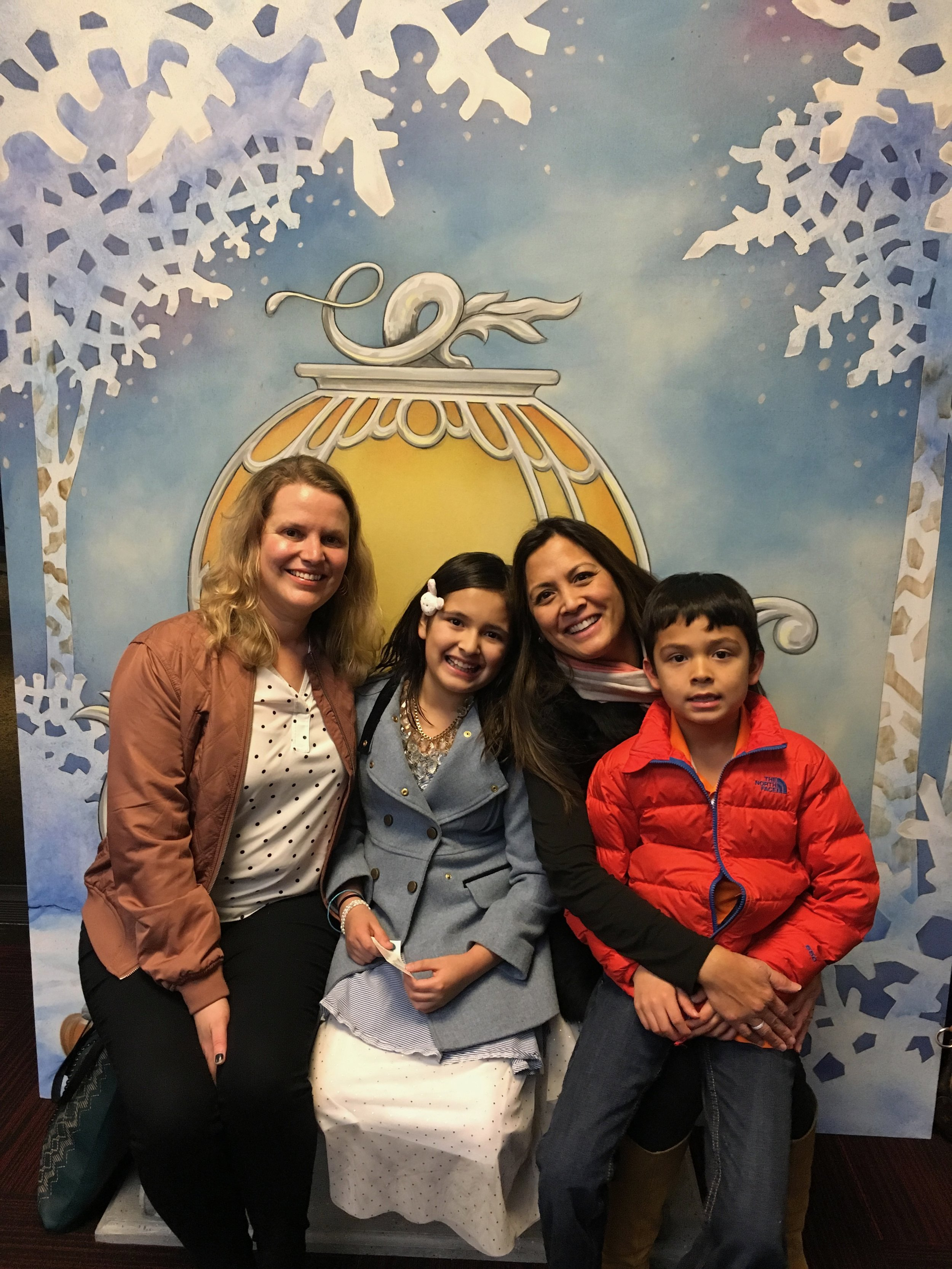 Enjoyed the Cinderella play with the youngest of the sibling foursome, Camille.