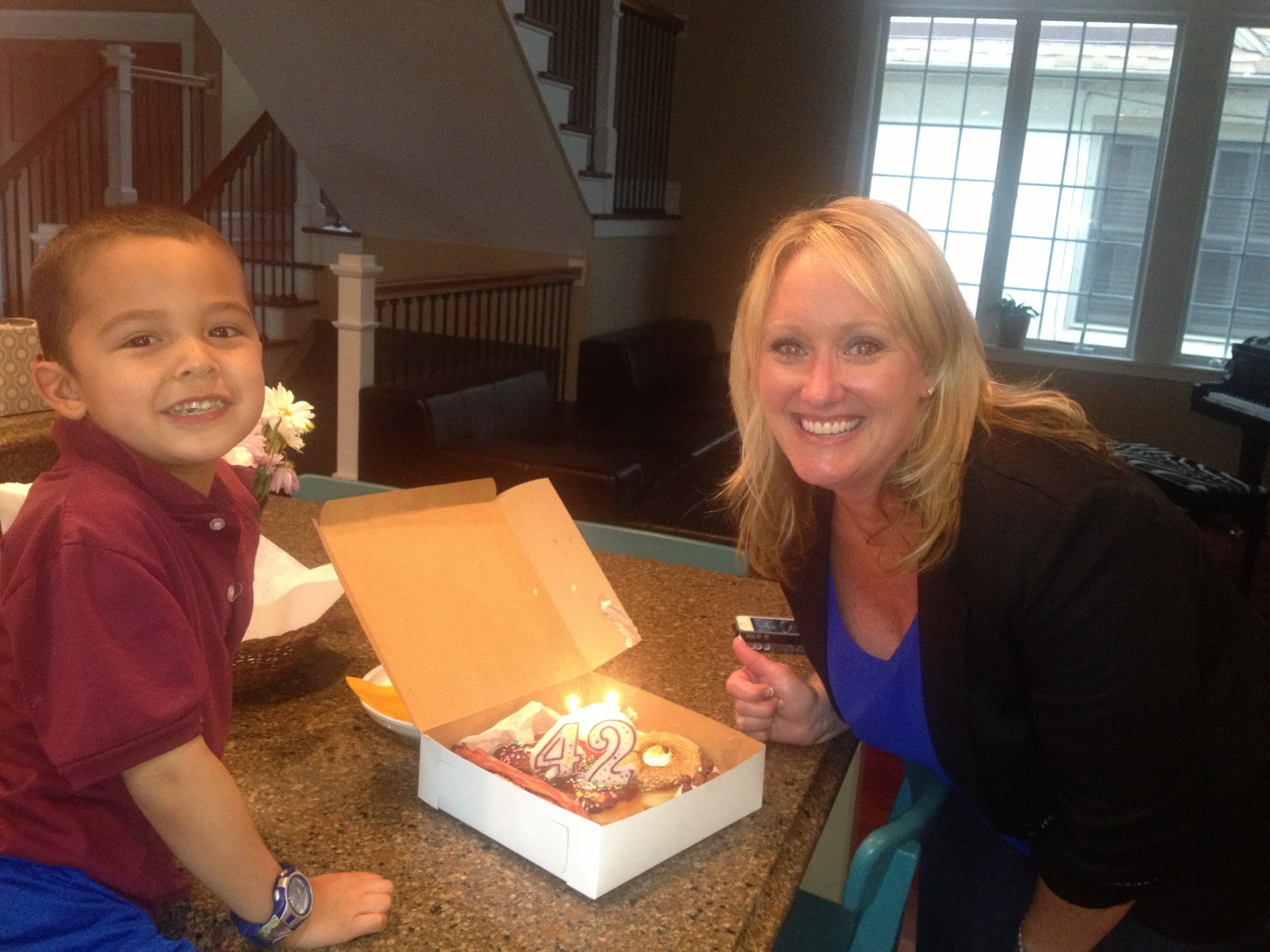 Instagram Message: Donut Day is this Friday, June 2nd. And today is this girl's bday. Donut miss out, read the blog!