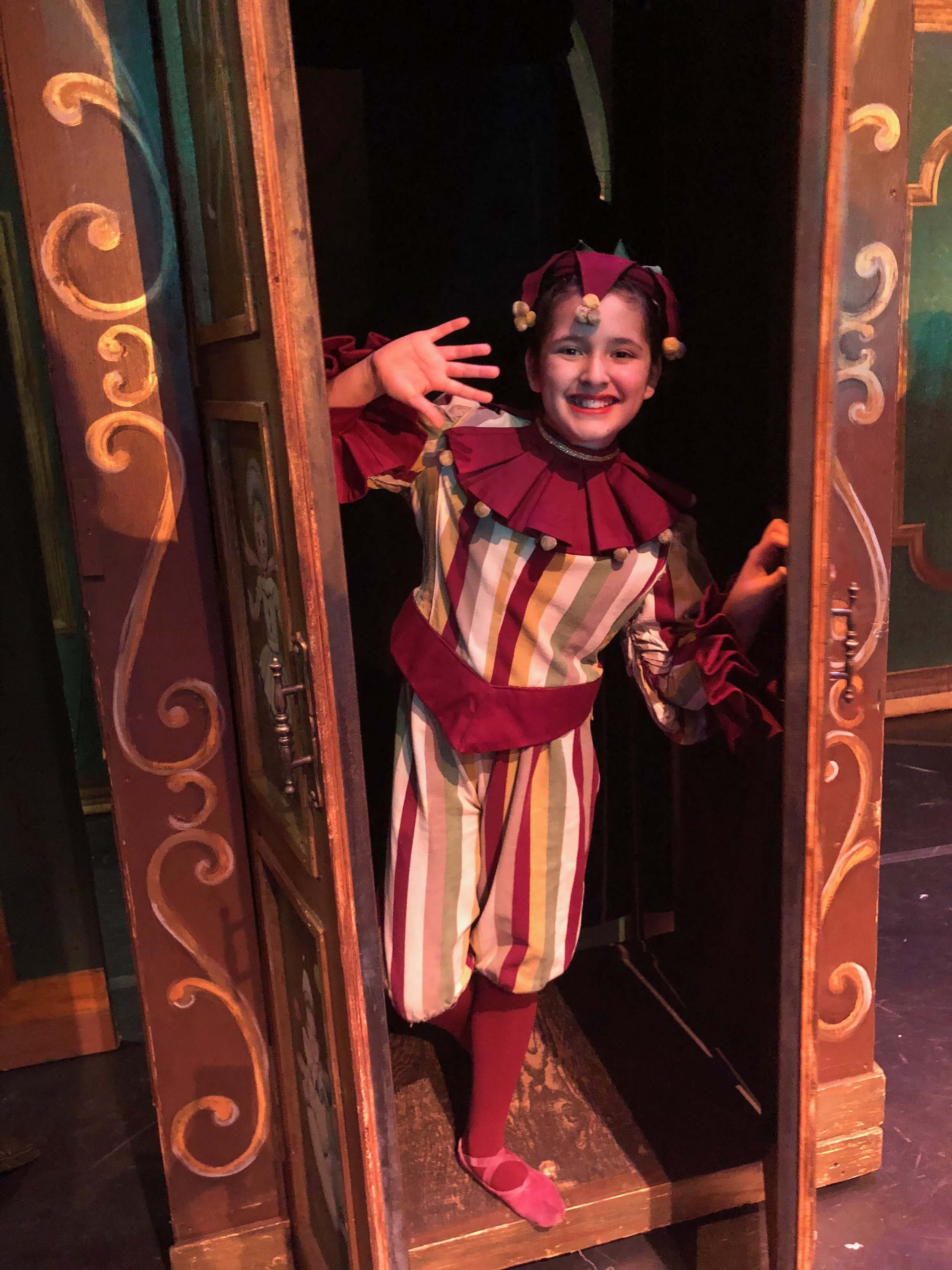"""My Nutcracker """"Punch"""" or also known as a jester."""