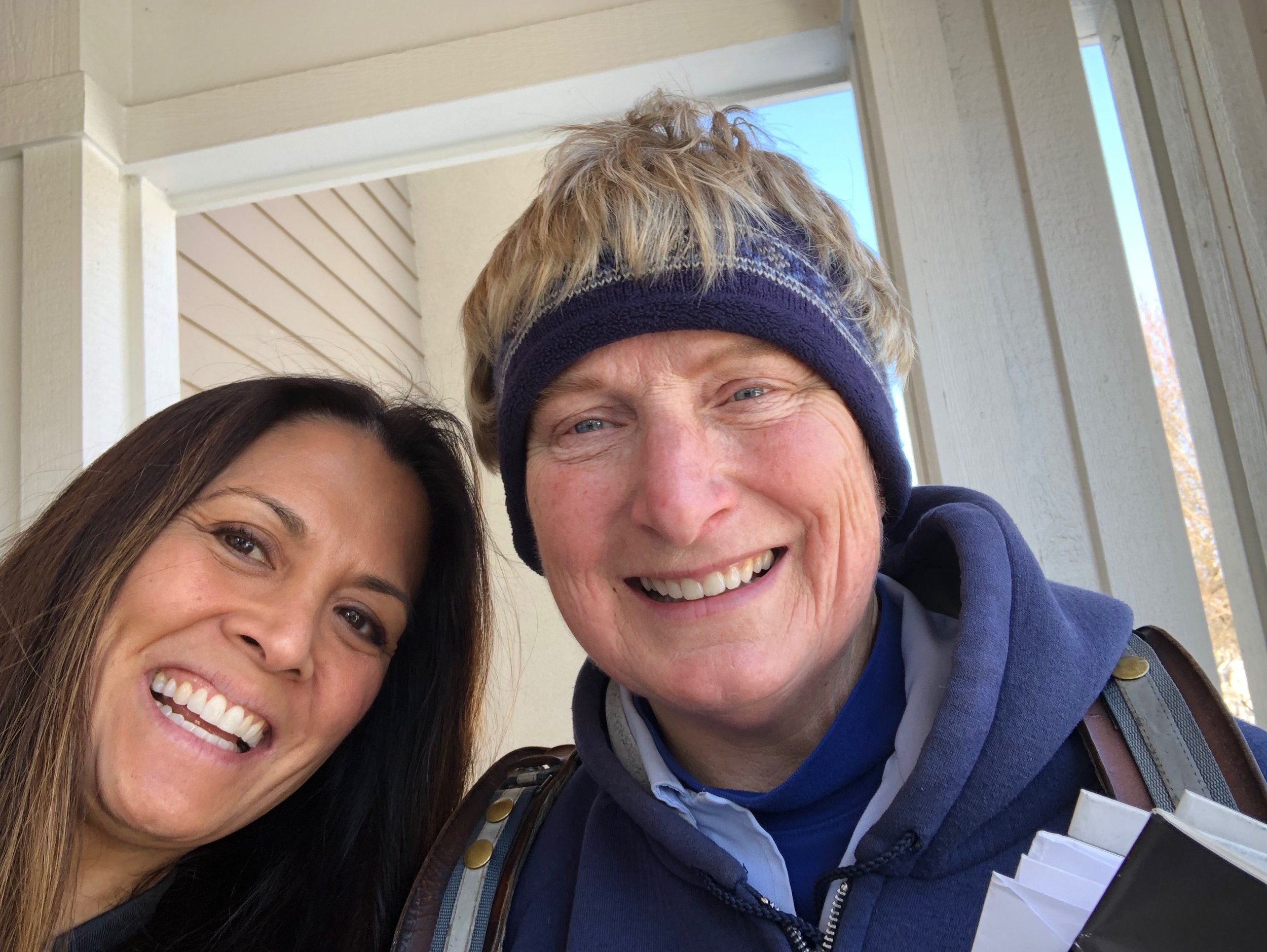 Instagram Message: She's the BEST mail carrier in the country! Check the blog. Thank a Mail Carrier day is coming up!