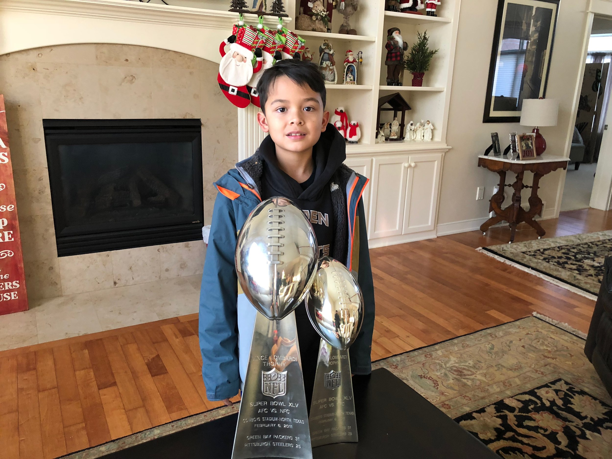 Instagram Message: I used to pray for things like these Lombardi trophies. Check Thoughtfulpinch.com for what I pray for these days - couldn't fit it all in one so I wrote 2 posts this week!