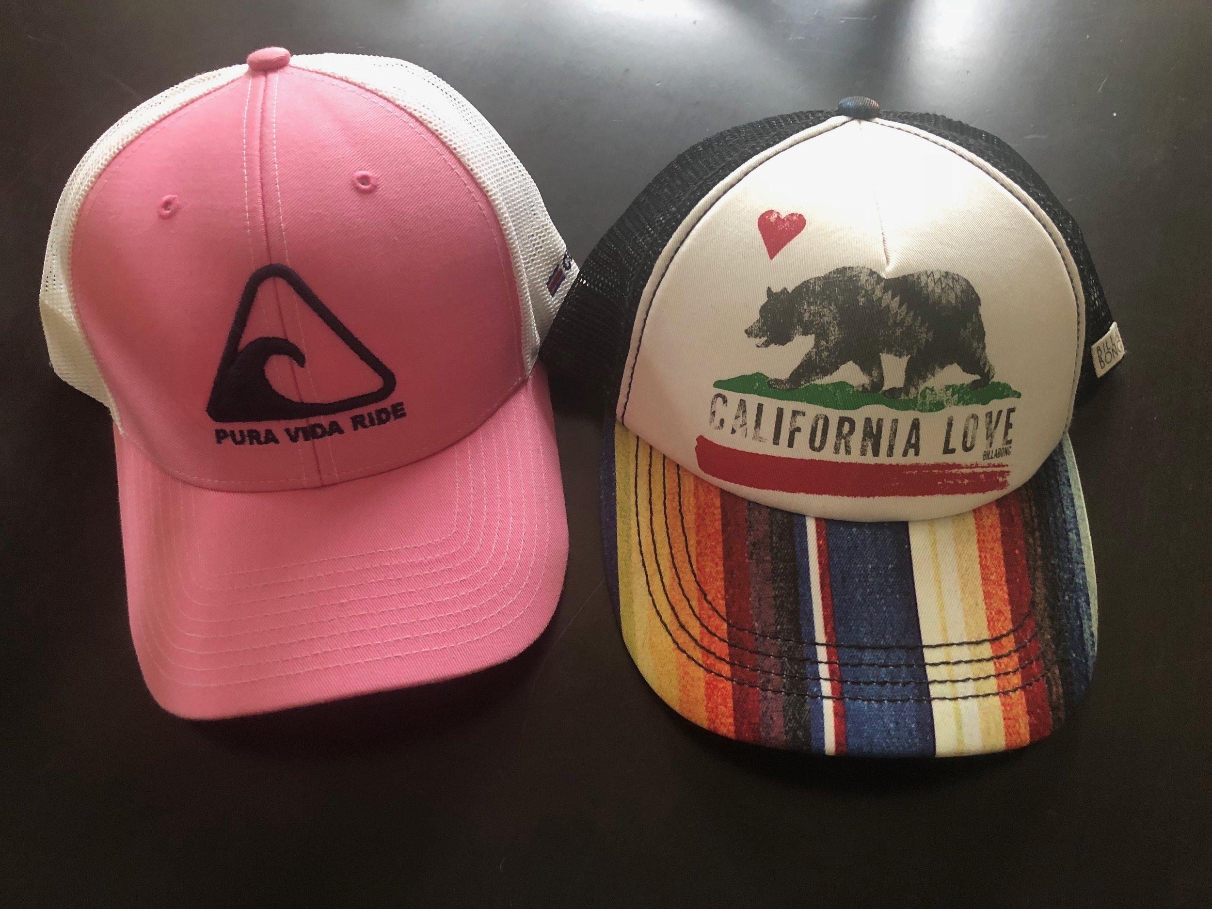 You will not find me wearing the Pura Vida cap in Costa Rica or the California Love hat in California.