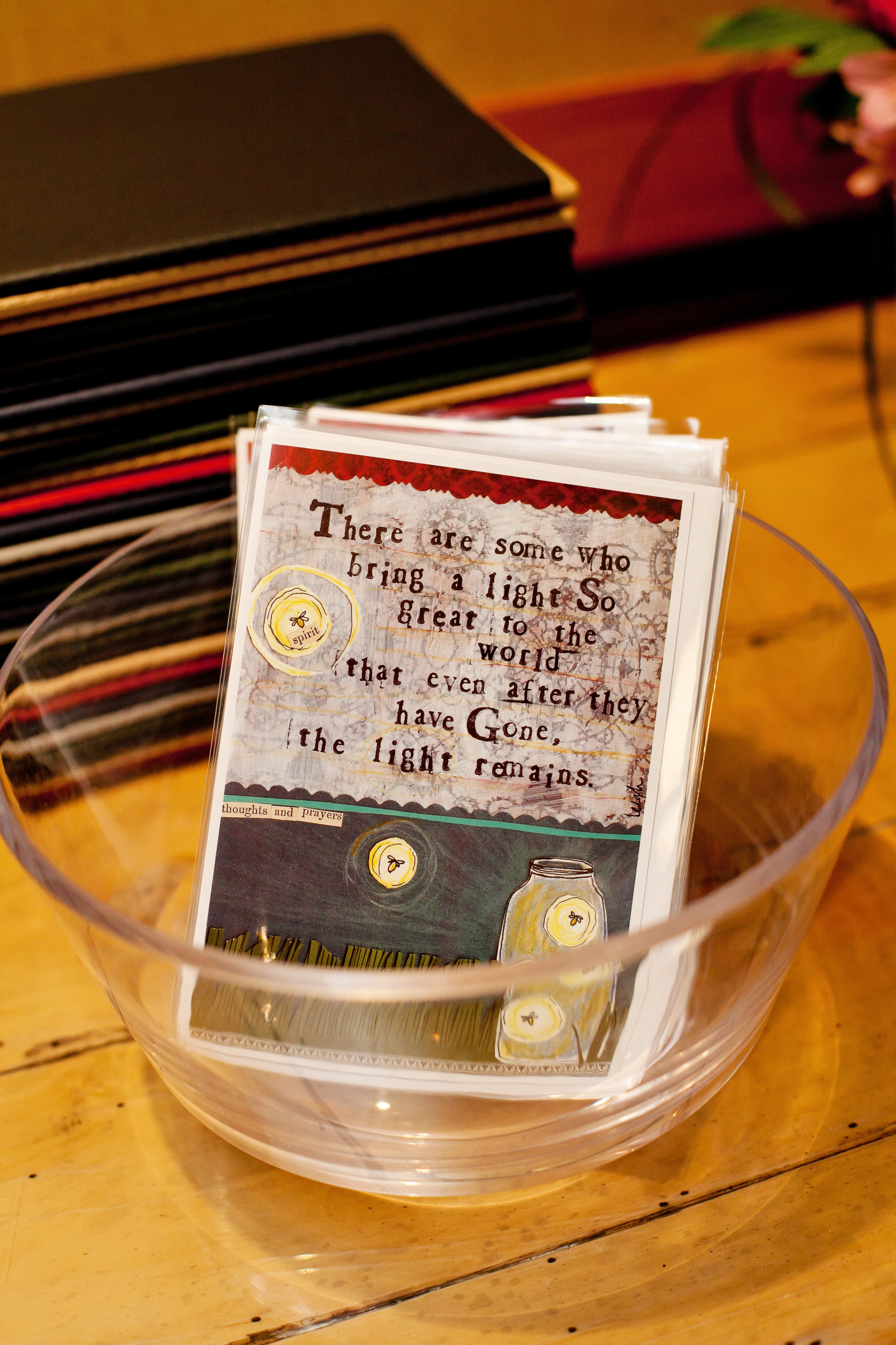 The original sympathy card that I fell in love with. It was the beginning of my Curly Girl Designs addiction.  Photo Credit - Bethany Meister:Photographer