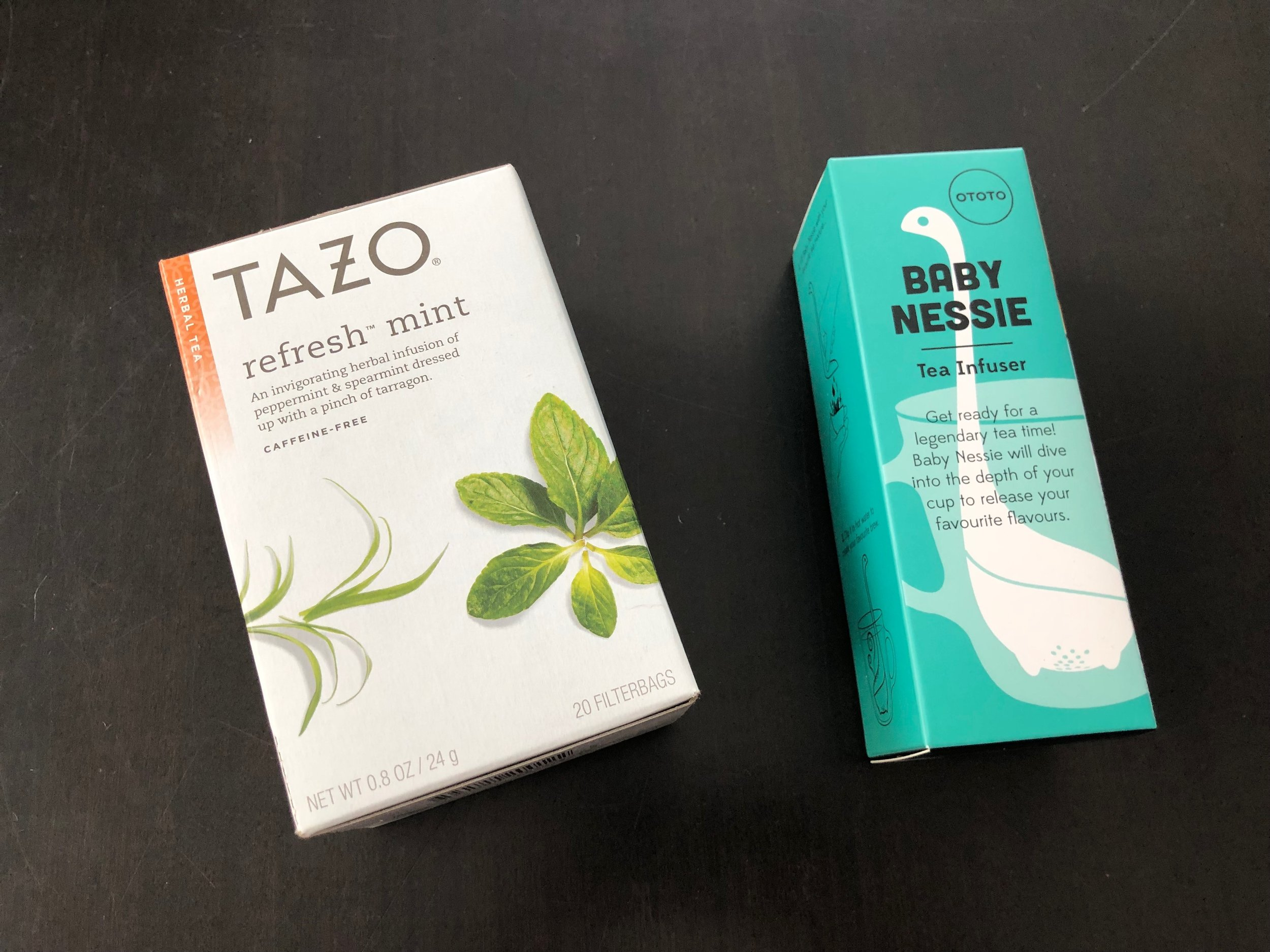 THOUGHTFUL PINCH   IDEAS: A) Put some Tazo tea packets inside the mug with a tiny bottle of honey. Or B) For those who enjoy loose leaf tea - combine a fun tea infuser with a bag of some loose tea leaves. Either way, that darling Live & Love MN mug combines well with any kind of tea.