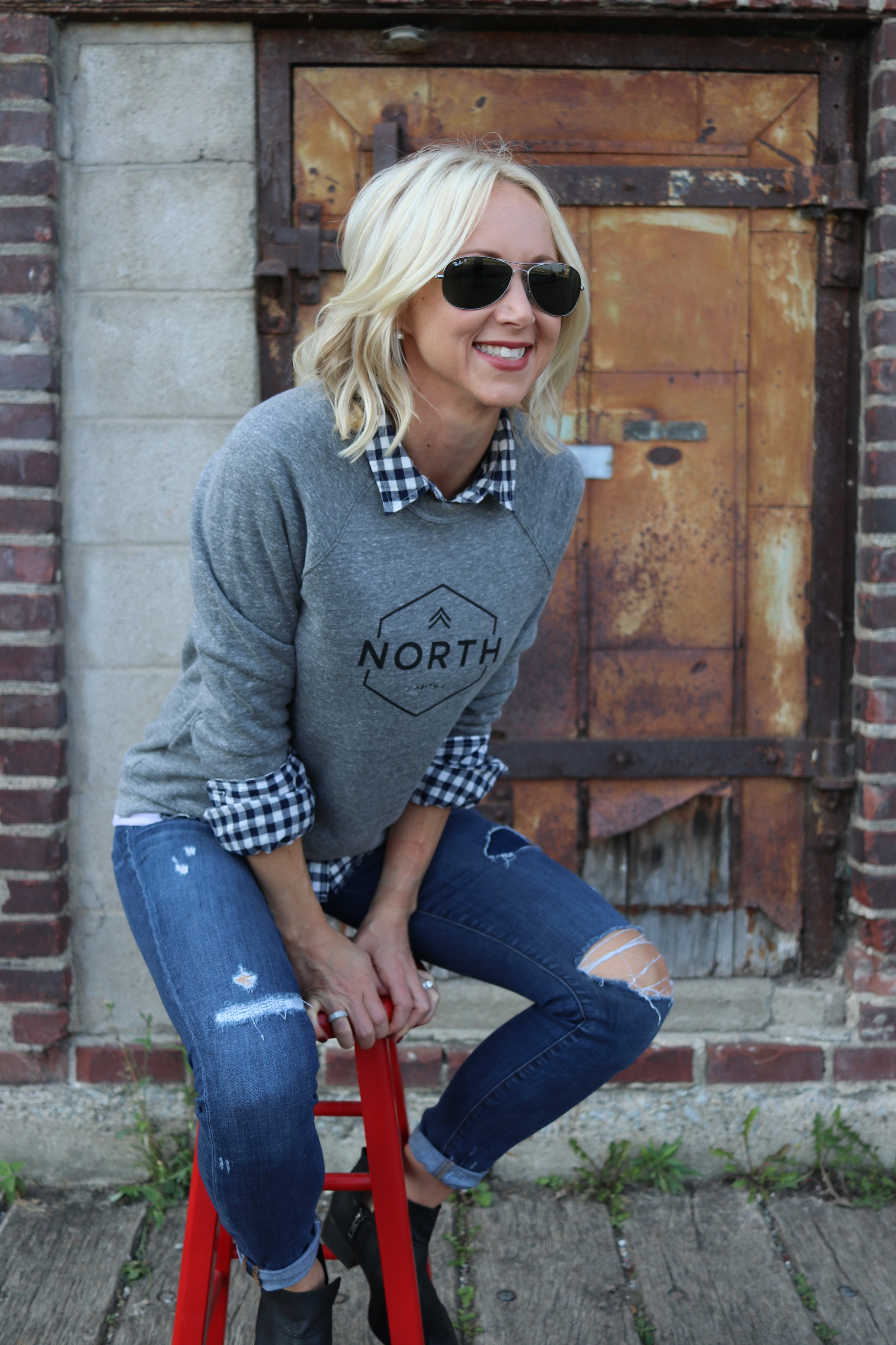 Last featured item.  North Sweatshirt  $49. Use the code Pinch25 for a special 25% off. Shipping is always free.