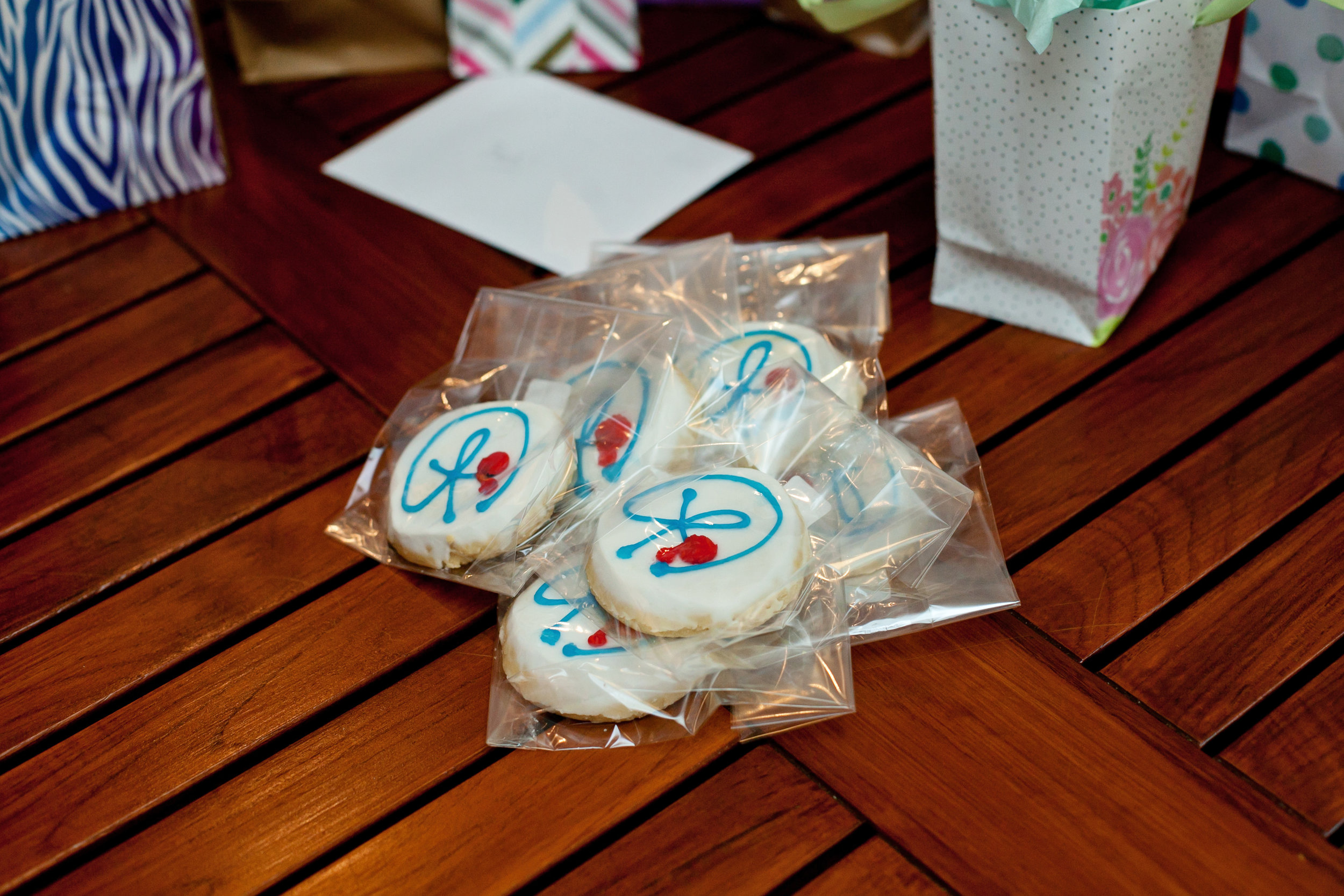 Photo by: Bethany Meister: Photographer. Cookies for my 8/28/18 launch party.