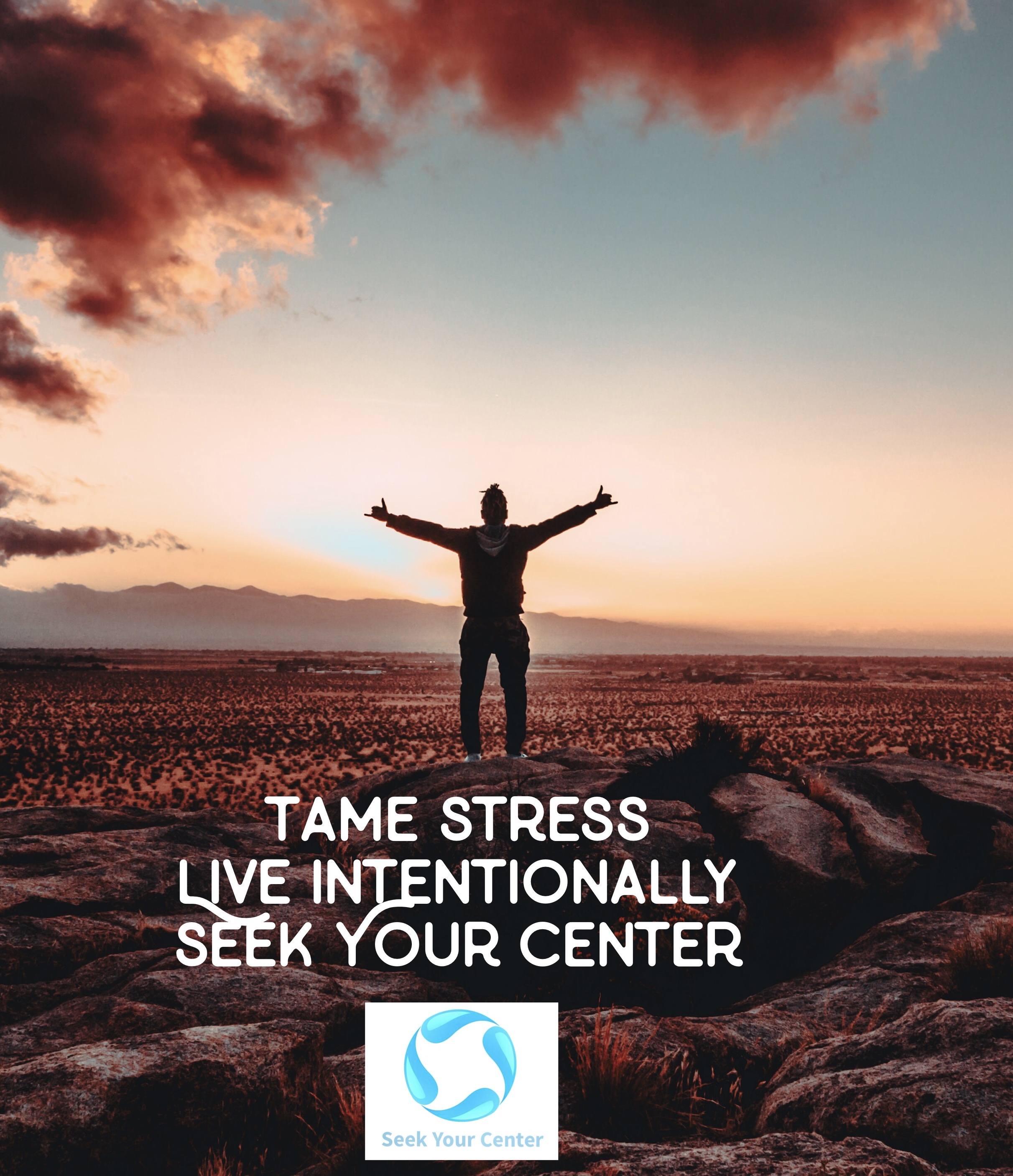 We can help you tame your stress, live intentionally, and Seek Your Center.