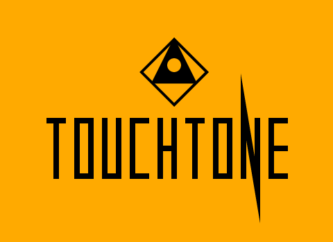 The suitably ominousTouchtone logo.