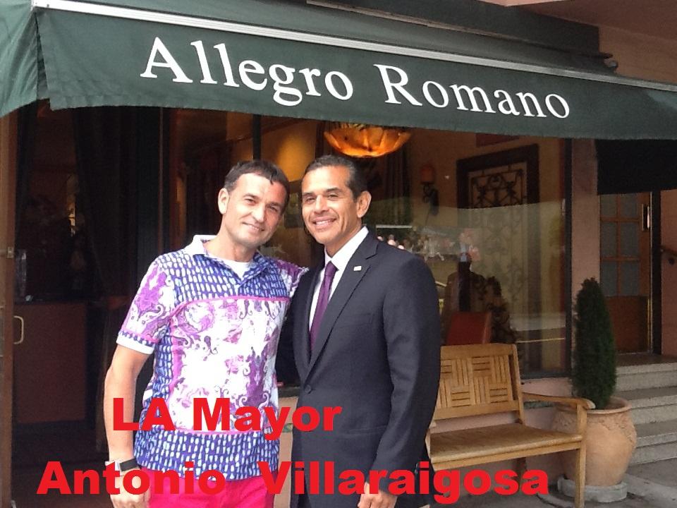 L.A Mayor Antonio Villaraigosa