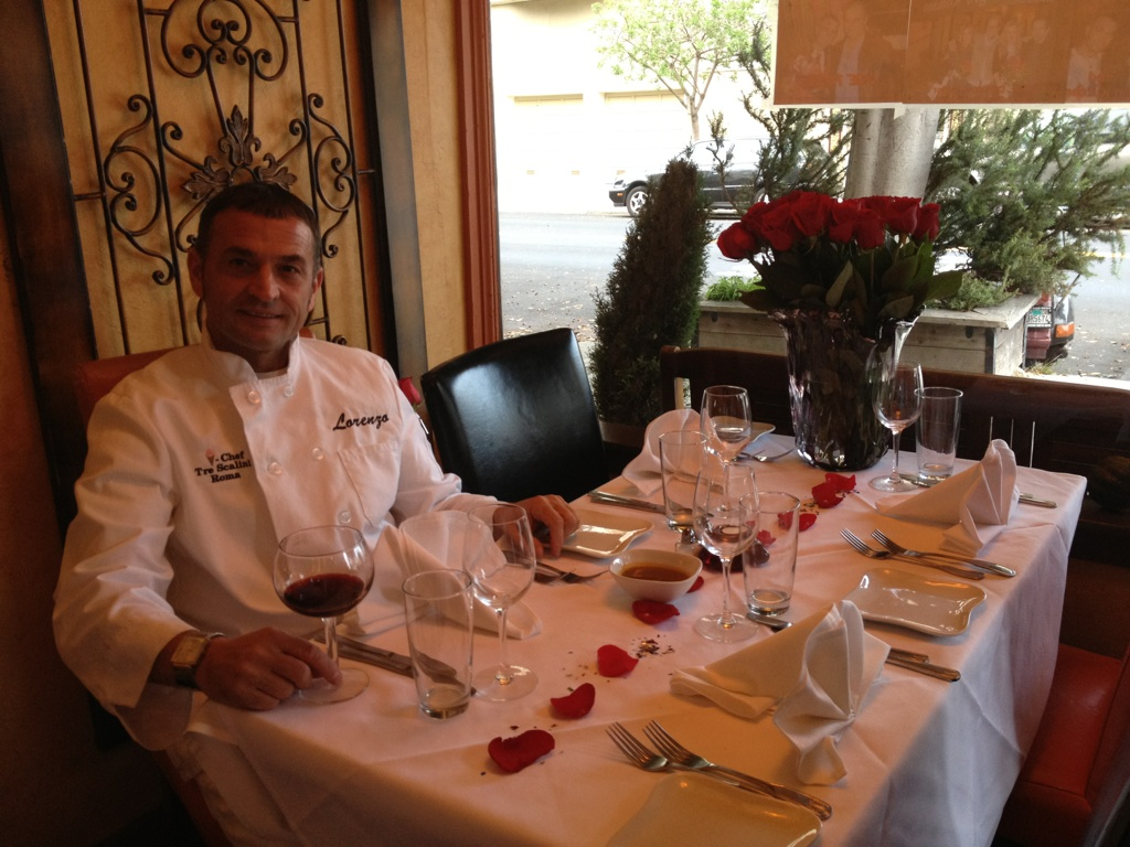 Executive Chef Lorenzo Allegro and Ala Romana