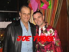 Joe Torre and Lorenzo  at Allegro