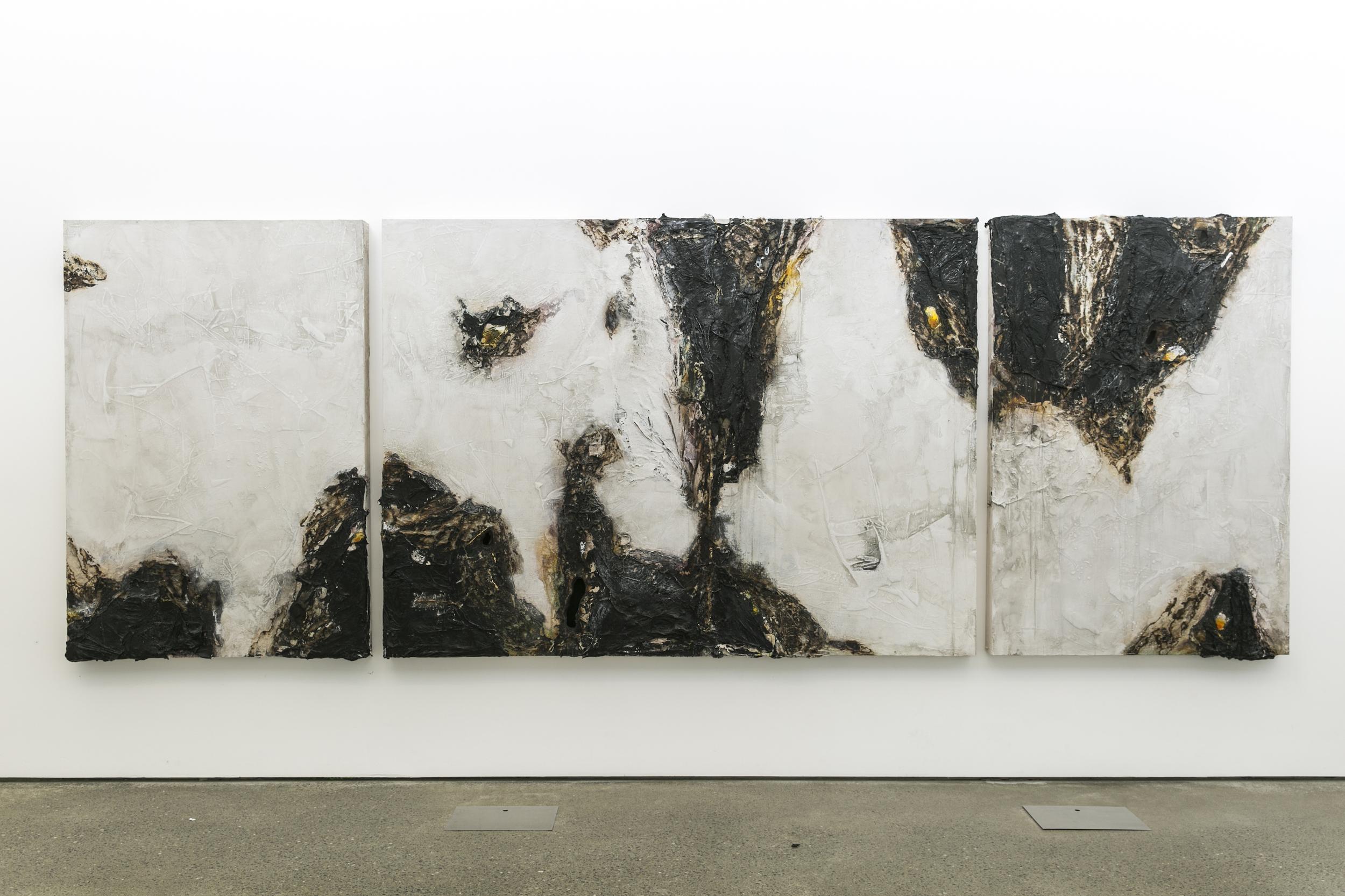 Liminal triptych