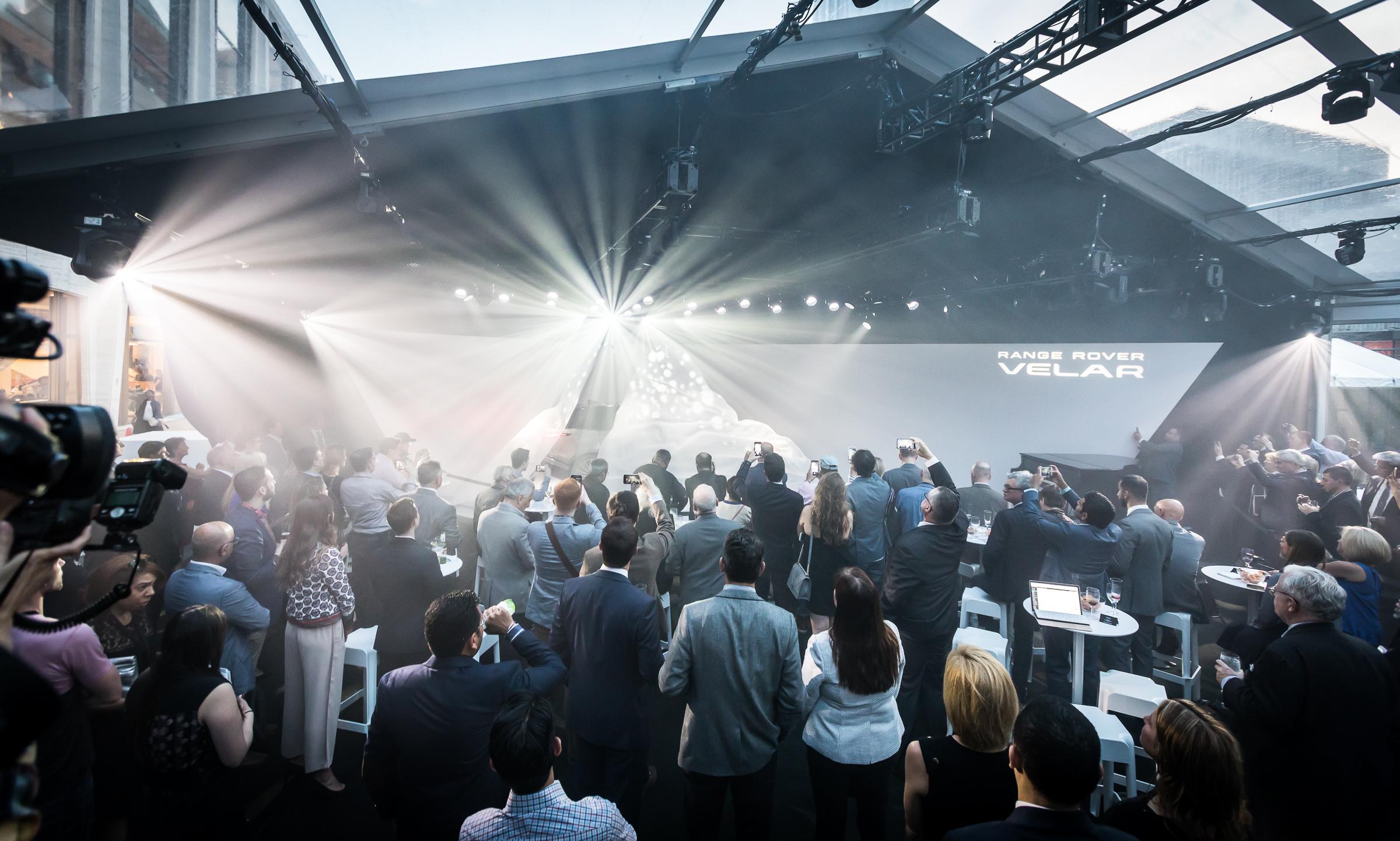 Range Rover Velar Launch - Lincoln Center NYC