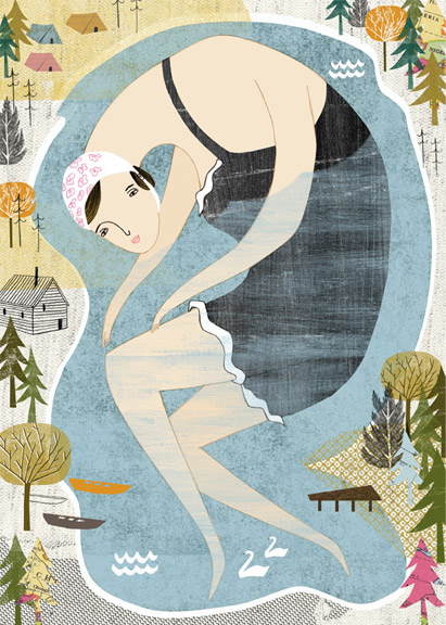 Giant Bather - by Angela Keoghan