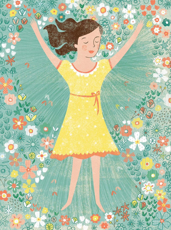 #AA_AK0008 Flower Angel
