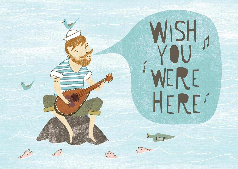 #AA_AK0012 Wish You Were Here