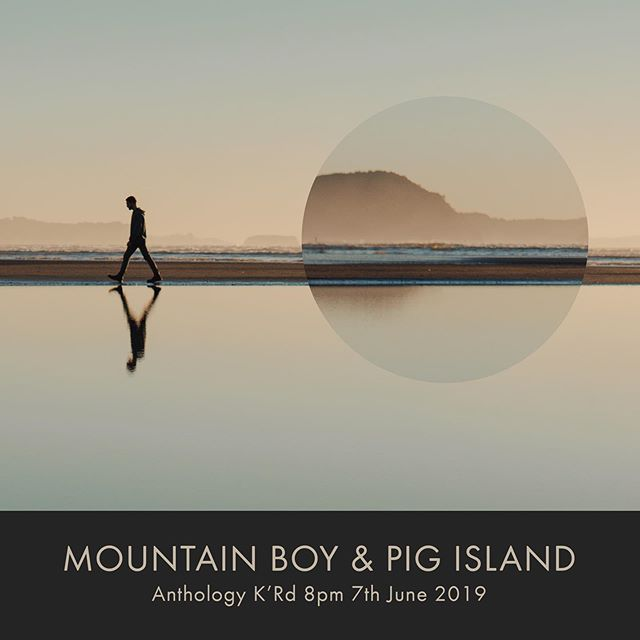This is it people, the last NZ show before the big move! It's a pleasure to be joined by @pigislandband (@lukethopmson and @antonyjeffares of you didn't know already). I would seriously love to see you there, you can get tix now in my bio.