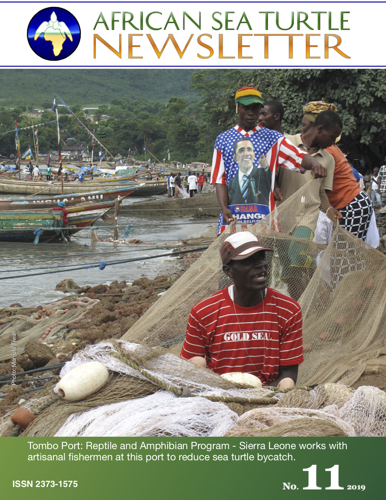 African Sea Turtle Newsletter #11_cover.jpg