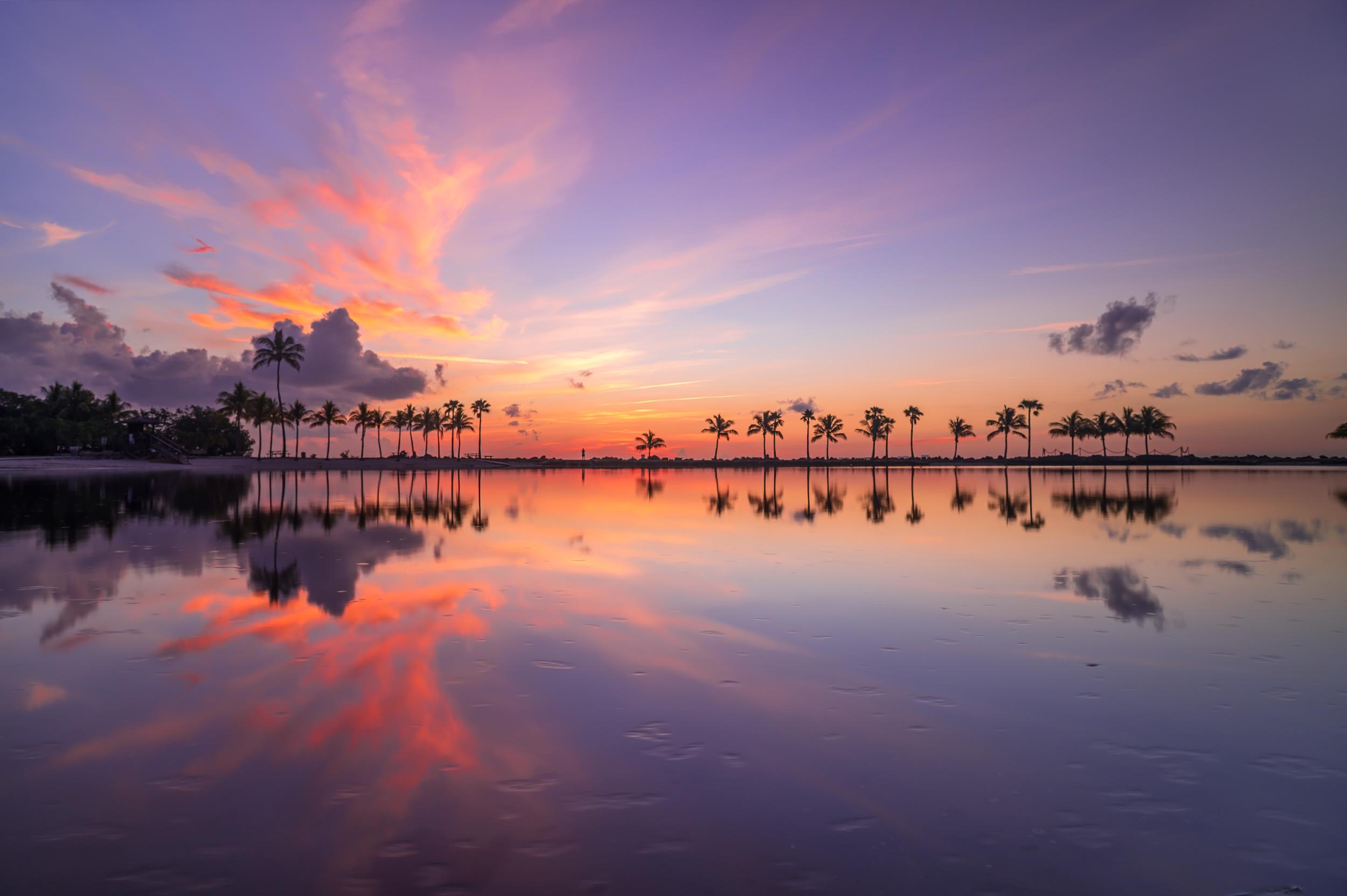 Matheson Hammock Park Sunrise - Miami