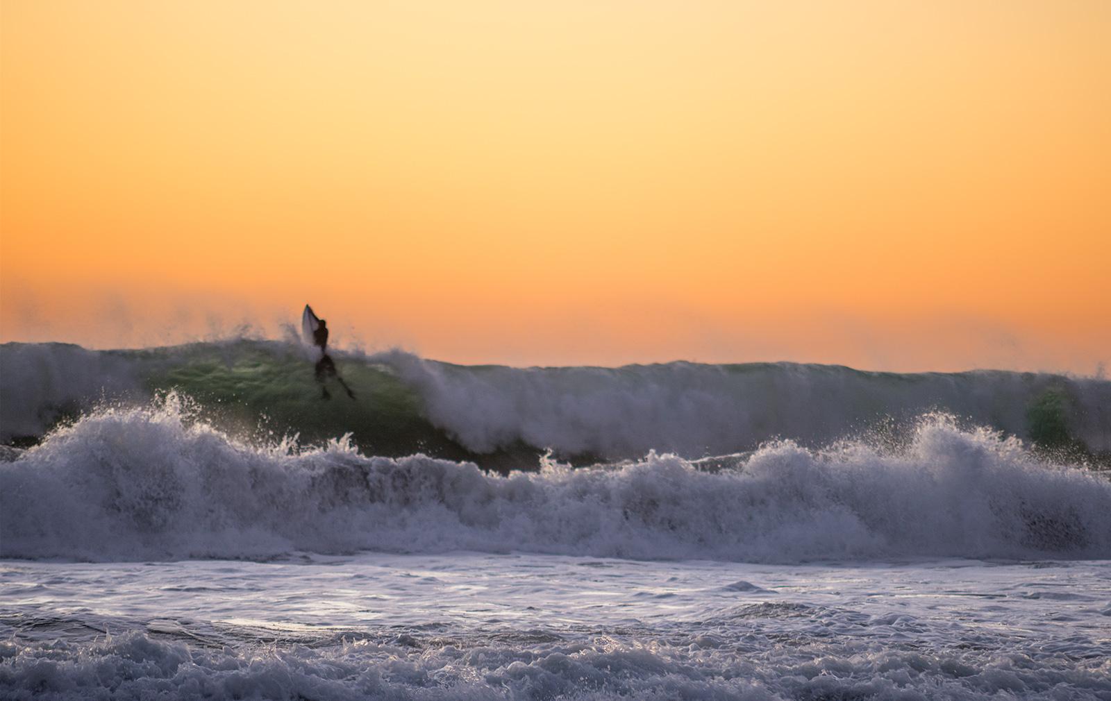 White water surf at Pfeiffer Beach, Big Sur.