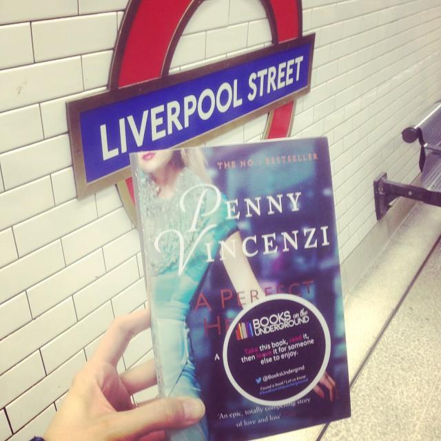 Courstesy of  Books on the Underground