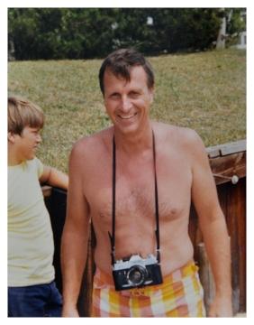 My dad, circa 1973.
