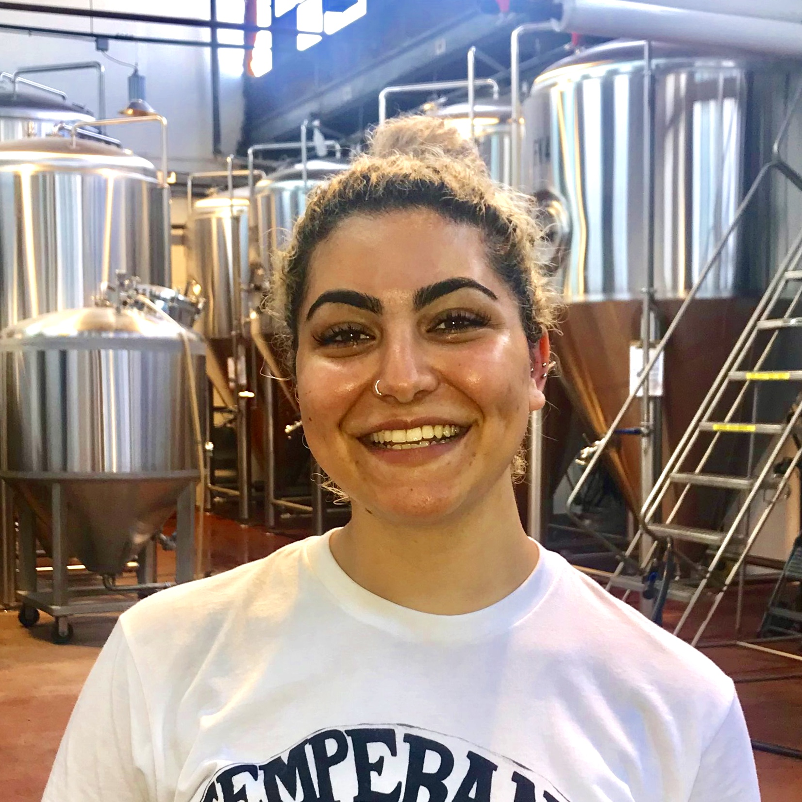 """Gacia, Tap Room/Brewery  In addition to her youthful enthusiasm and energy, Gacia brings her extensive knowledge of what the kids are saying these days. Older employees may feign indifference or mild amusement but are in fact happy to be able to seem """"current."""""""