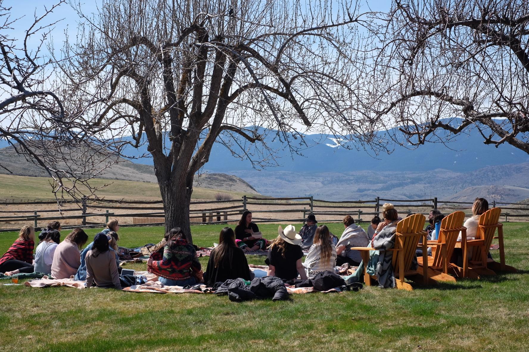Soulful Entrepreneur Retreat outdoors mountains nature