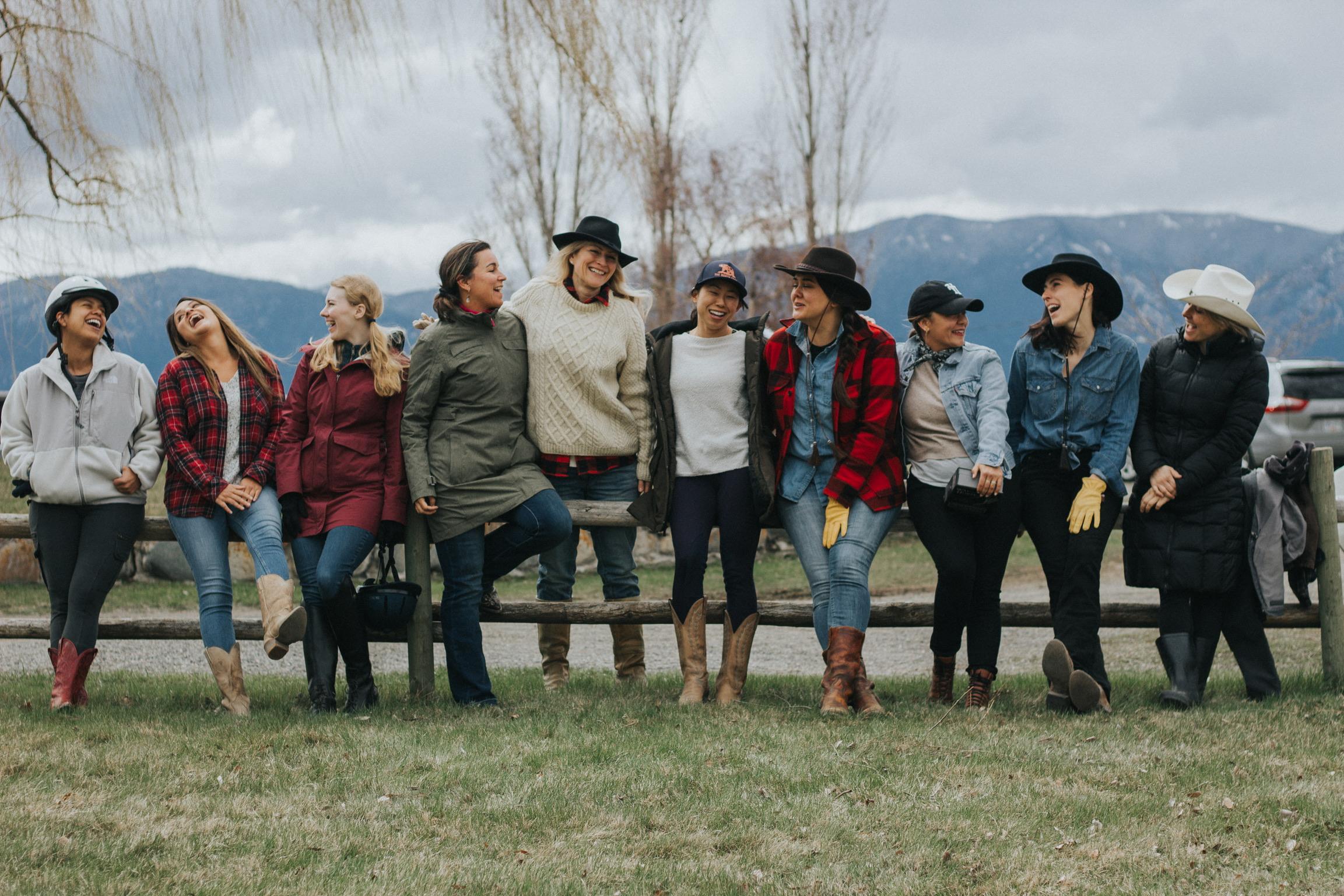 Sundance Ranch Soulful Entrepreneur Retreat Group Love