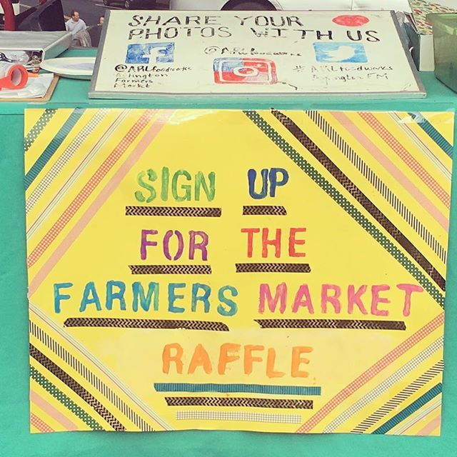 Come by the information tent and sign up for the Farmers Market Raffle! @arlfoodworks @communityfoodworks @farmersmarketcoalition #farmersmarketweek #eatclean #supportlocal #eathealthy #farmers #famersmarket #freshfood #cleanliving #familylove❤️ #familygoals