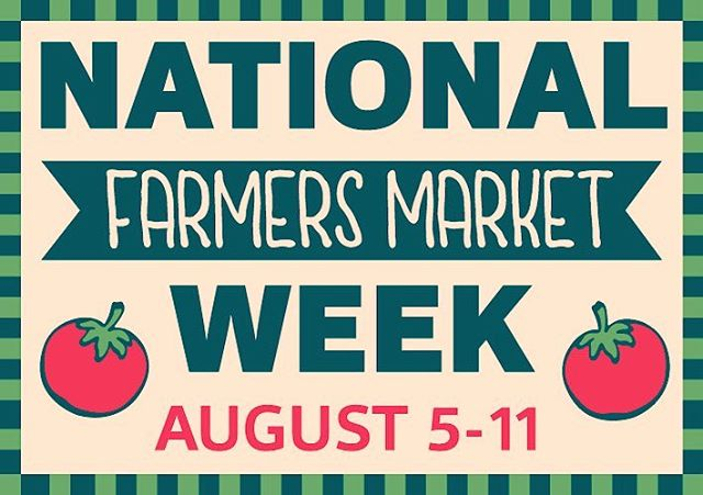 HAPPY NATIONAL FARMER'S MARKET WEEK!! Remember that where you shop makes a difference!! @arlfoodworks @communityfoodworks @farmersmarketcoalition #farmersmarketweek #supportlocal #eatclean #farmers #famersmarket #community #happylife❤️ #supportsmallbusiness