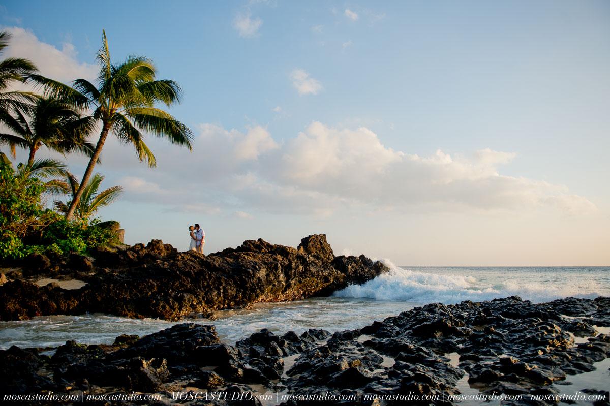 October 9 | Maui Hawaii wedding    April & Ryan Getting ready: Maui Vista Condominiums Ceremony: Secret Beach, Mekena Dinner: Four Seasons Hotel, Maui   Photography by Alice & Josh of MoscaStudio