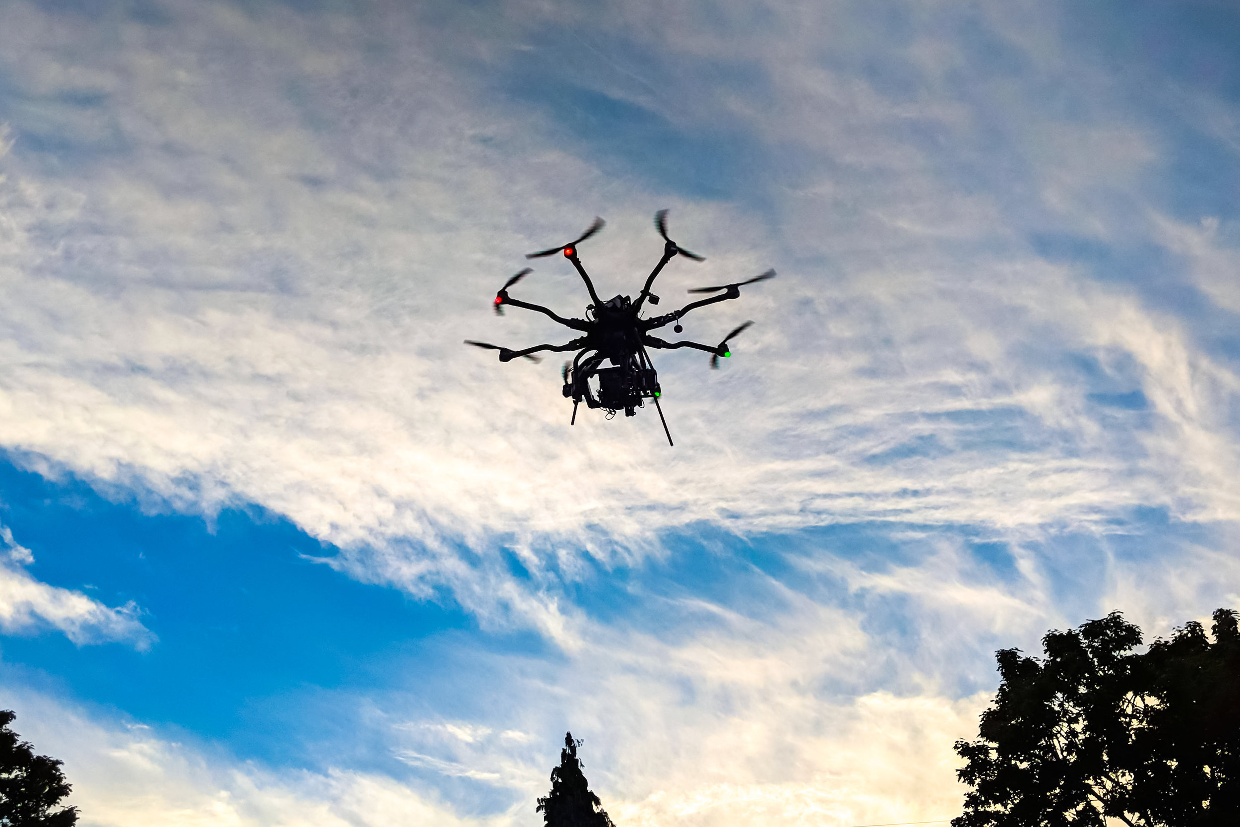 Freefly Alta Octocopter - Heavy-LiftRED Epic-W Payload