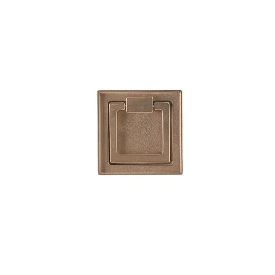 Rocky Mountain Hardware Square Ring Cabinet Pull, found  here