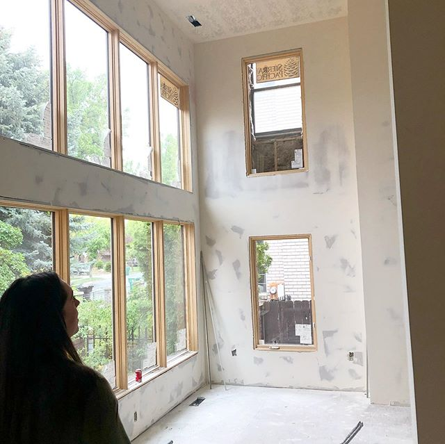 Site visit at the remodel to end all remodels! We have some exciting design details in the works with these clients that have been SO fun to work with. Can't. Wait. to see this one come to life over the next few weeks!🚪🔨🏡