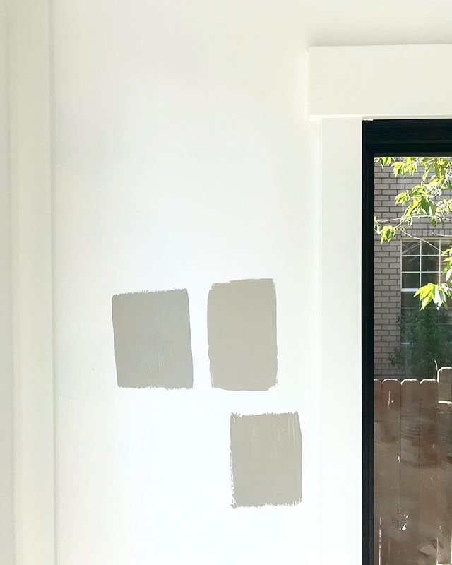 Finalizing some paint colors and kitchen finishes for a Utah client this week - loving that they're not afraid of some warmer, cozy colors! We settled on Pashmina by Benjamin Moore and can't wait to see it go up 🎨🏠🌳