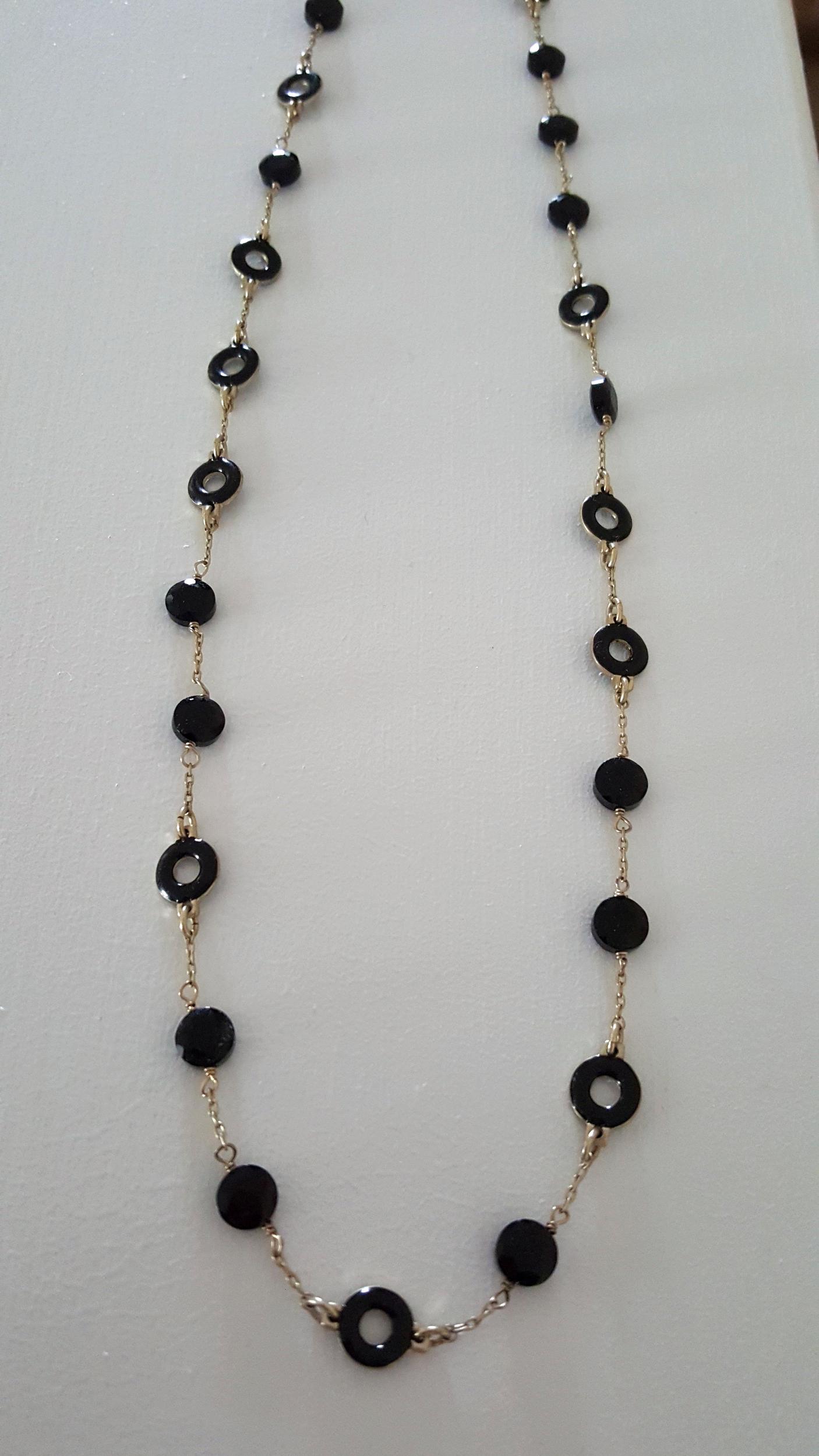 JCREW Black Necklace