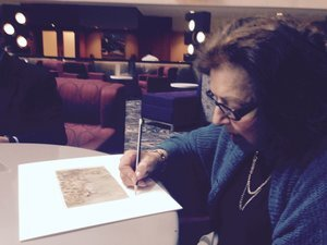 Dr. Nelly Toll, signing event in NY, NY.