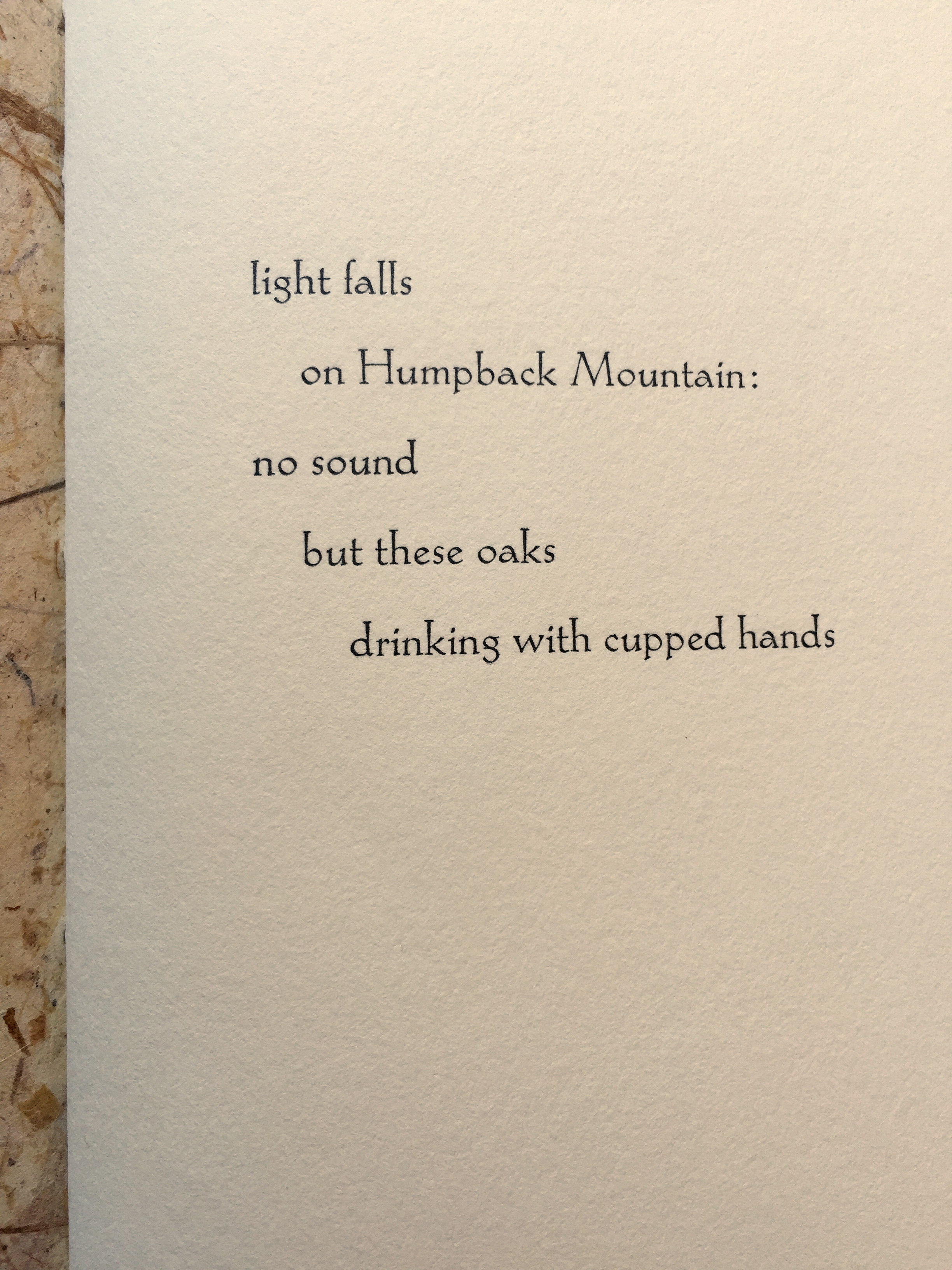 "from ""Soundings,"" by Emily Hancock"