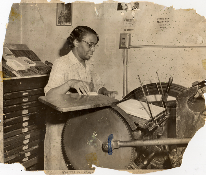 Ruth Ellis established her Press in 1937, in Detroit, Michigan