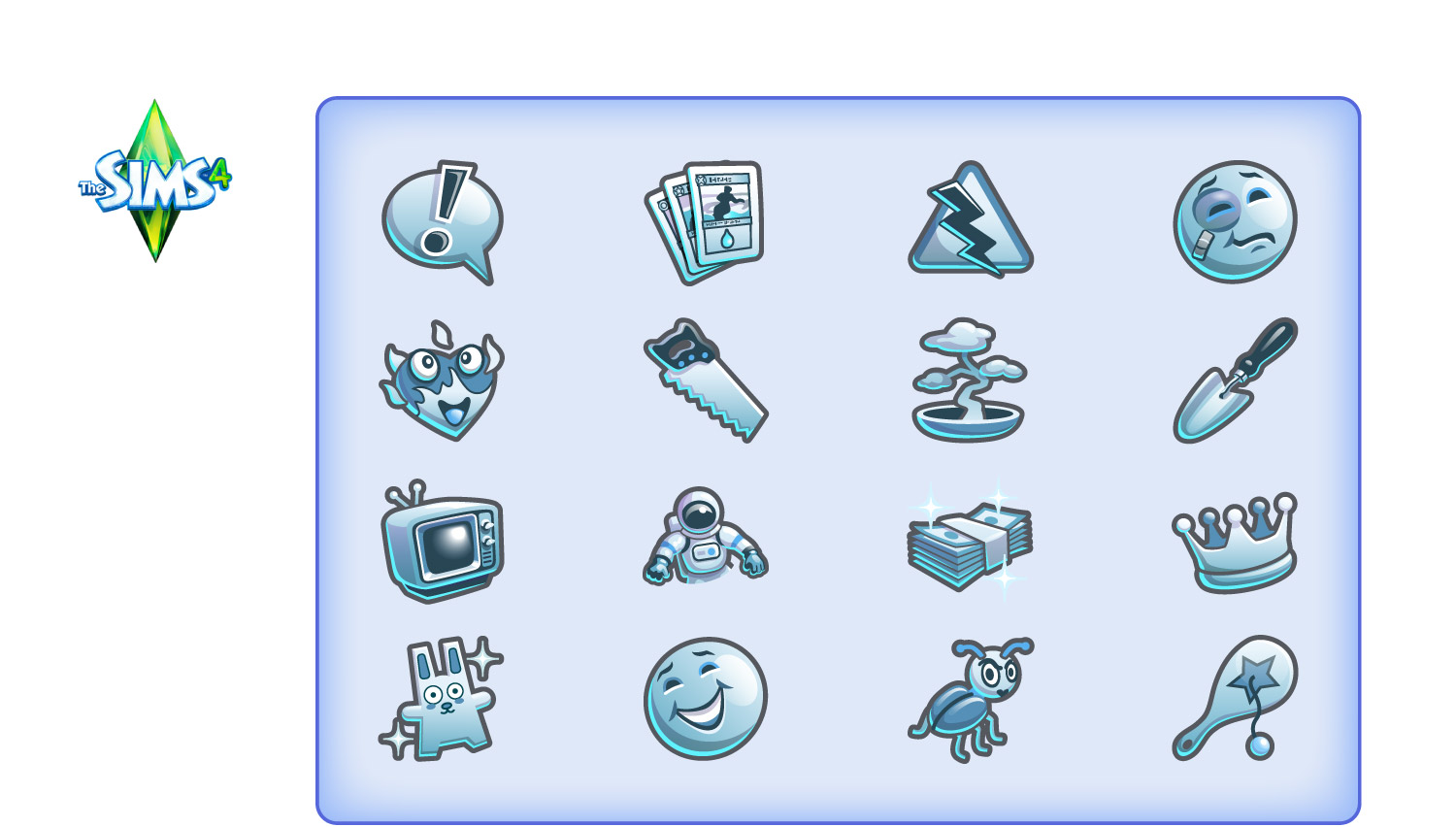 Icons for EA Games' Sims4