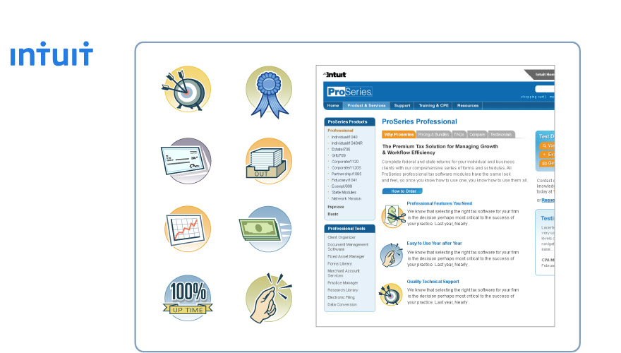 Icons for Intuit