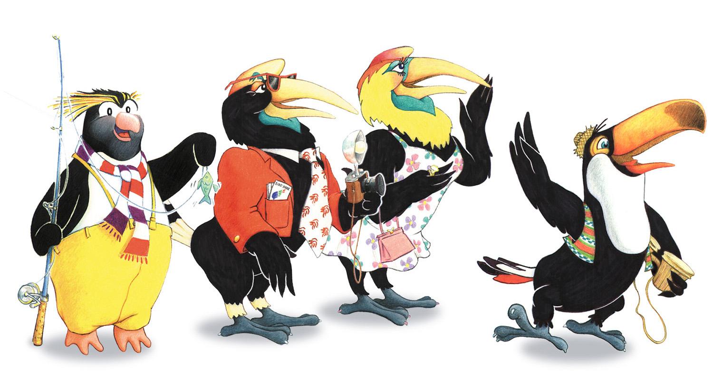 Mascot Designs for Jurong Bird Park