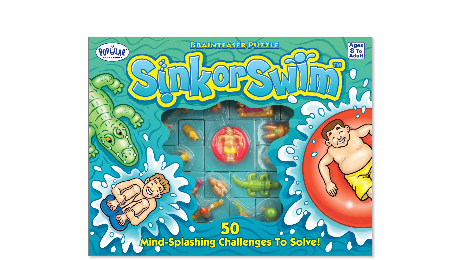 """Sink or Swim"" brain teaser puzzle for Popular Playthings"